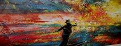 Obra de Arte Homenaje a Idecesar 10 años